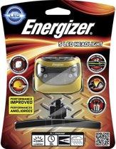 Energizer Hoofdlamp Met Hoofdband 7,5 Cm Geel/grijs