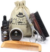 Baard Verzorging set | Baardset | Geschenk | Grooming Kit | Voor Mannen | Barbershop set | Baardgroei | Baardstyling | Professioneel | Kroon Commerce