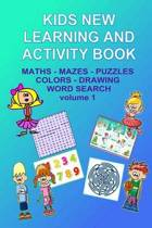 Kids New Learning and Activity Book Vol 1