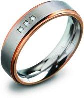 Boccia Titanium 0134-02 Ring - Titanium - Bicolor