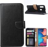 Samsung Galaxy A40 - Bookcase Zwart - portemonee hoesje
