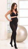 Mamsy Comfortabele Opaque Zwangerschapspanty 60den (Zwart | L)