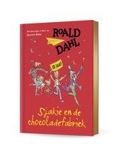 De Fantastische Bibliotheek van Roald Dahl - Sjakie en de chocoladefabriek (feestelijke jubileumeditie)