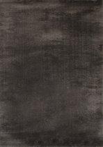 Vloerkleed Hoogpolig Shaggy Soft Gemêleerd Antraciet - 80 x 150 cm