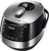 Aigostar Happy Chef 30IWY - Pressure Multicooker - Zwart/RVS