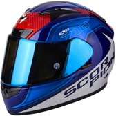 Scorpion Integraalhelm EXO-710 Air Mugello Blue/White-M