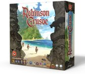 Robinson Crusoe Adventures on the Cursed Island - Engelstalig Bordspel
