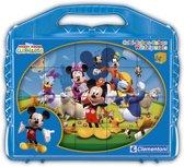 Clementoni blokkenpuzzel Cubi 24 - Mickey Clubhuis blokken