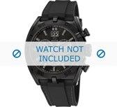 Horlogeband Jaguar J655 / J655-1 / J655-2 / J655-X / J655-P1 / J655-P2 Rubber Zwart 27mm