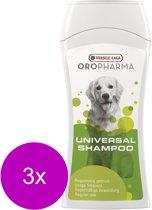 Versele-Laga Oropharma Universal Shampoo - Hondenvachtverzorging - 3 x 250 ml