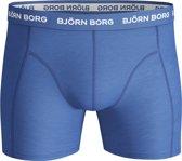 Bjorn Borg Boxershort 1-Pack Noos Solids Mid Blauw