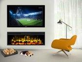 A-Flame Milaan elektrische haard LED inbouw wandhaard