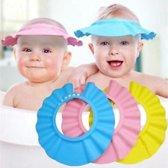 Douchekap Blauw, handig voor kleine kinderen
