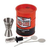 Harley-Davidson Oil Drum Cocktail Cadeau Set