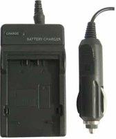 Digitale camera batterijlader voor Panasonic BLB13 (zwart)