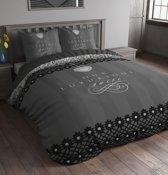 Sleeptime Our Luxurious Suite Dekbedovertrek - Eenpersoons - 140 x 220 cm - Grijs