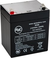 AJC® battery compatibel met Ritar 12V 4.5Ah 12V 5Ah Lood zuur accu