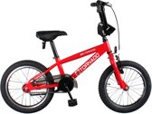 Bike Fun Cross Tornado - Fiets - Unisex - Rood - 16 Inch