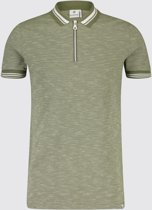Blue Industry Polo gemêleerd Army (KBIS19 - M28 - Army)