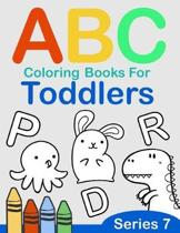 ABC Coloring Books for Toddlers Series 7: A to Z coloring sheets, JUMBO Alphabet coloring pages for Preschoolers, ABC Coloring Sheets for kids ages 2-