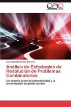 Analisis de Estrategias de Resolucion de Problemas Combinatorios