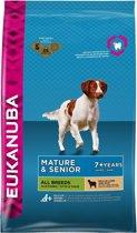 Eukanuba Dog Mature & Senior - All Breeds - Lam/Rijst - Hondenvoer - 12 kg