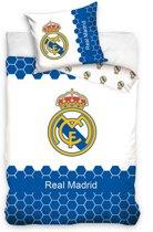 Overige Merken Dekbedovertrek Real Madrid Blauw/Wit