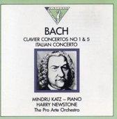 Bach: Clavier Concertos No. 1 & 5, Italian Concerto