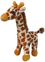 Pluche giraffe knuffel 25 cm - Knuffeldieren/knuffelbeesten