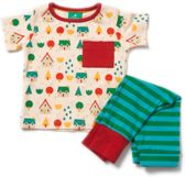 Little Village speelpak/pyjama van Little Green Radicals (3-6 mnd)