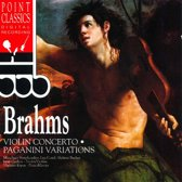 Brahms: Violin Concerto; Paganini Variations