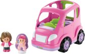 Fisher-Price Little People All Around Car - Roze - Speelfigurenset