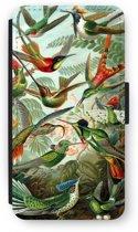 iPod Touch 6 Flip Hoesje - Haeckel Trochilidae