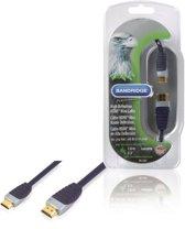 Bandridge - HDMI naar Mini HDMI kabel - 1 m - Zwart