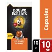 Douwe Egberts Espresso Original koffiecups - 10 x 10 cups