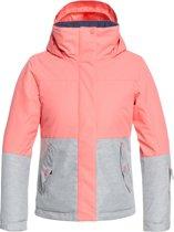 Roxy Jetty Girl Bl Ski jas Meisjes - Shell Pink - 8/S