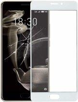 Let op type!! Voorste scherm buitenste glaslens voor Meizu PRO 7 Plus(White)