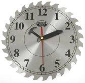 Cirkelzaag stalen wand klok gereedschaps wandklok werkplaats