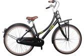 Bike Fun Cargo Load - Kinderfiets - Meisjes - Zwart - 43 cm