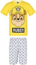 Paw Patrol Pyjama met korte mouw - geel - Maat 104