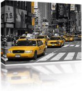 Sound Art - Canvas + Bluetooth Speaker Taxis In New York (41 x 51cm)
