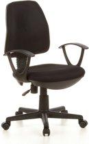 hjh office CITY 10- Bureaustoel - Stof - zwart
