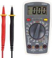 Digitale Multimeter - Cat. II 500 V / Cat. III 300 V - 10 A -  1999 Counts