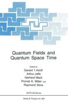 Quantum Fields and Quantum Space Time