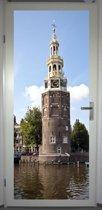 Deurposter 'Amsterdam 2' - deursticker 75x195 cm