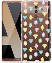 Huawei Mate 10 Pro Hoesje Diamonds