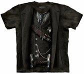 T-shirt sheriff zwart XL
