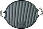 R�sle Grillplaat - � 40 cm - Zwart