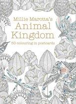 Millie Marotta's Animal Kingdom: 50 Coloring in Postcard