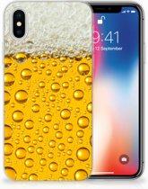 iPhone X Uniek TPU Hoesje Bier